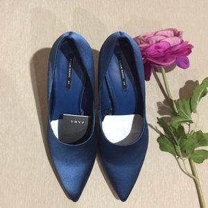 Zara satin heels!